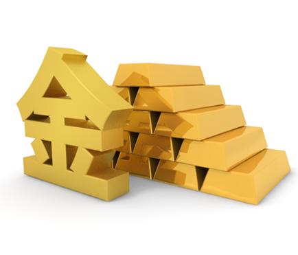 金塊 - 金文字 - イラスト - フリー素材-225903